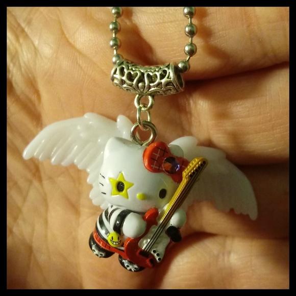 15c72102e Hello Kitty Jewelry | Rockstar Swarovski Necklace | Poshmark
